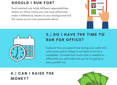 5 Things to Consider Before Running for Office