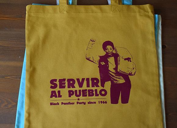 Bolso 'Servir al Pueblo'