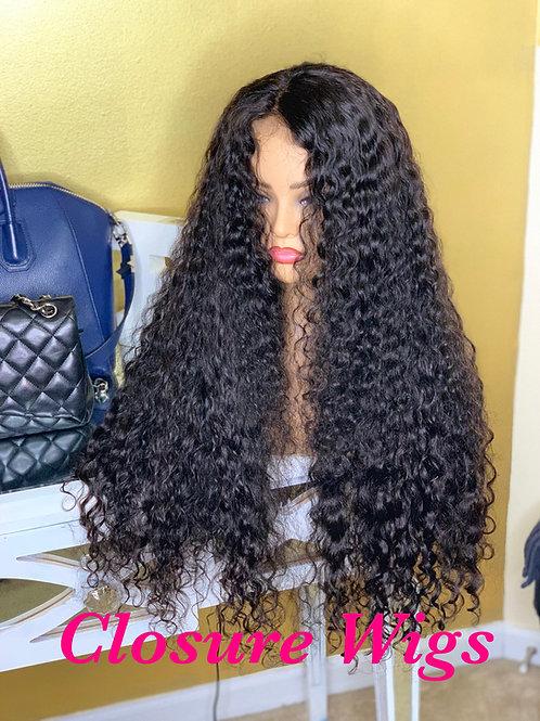 Virgin Burmese Closure Wig