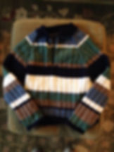 My Actual First Sweater