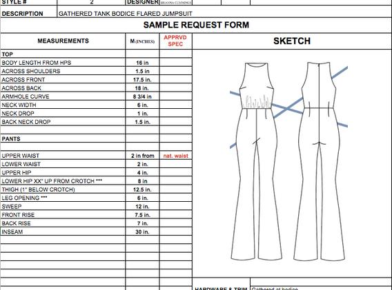 Style #2: Jumpsuit Tech Pack