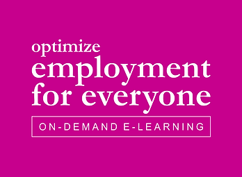 optimize employment for everyone e-learn