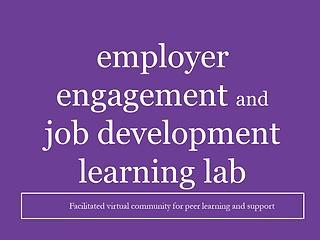 Employer Engagement Learning Lab