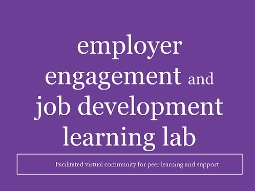 Employer Engagement Learning Lab