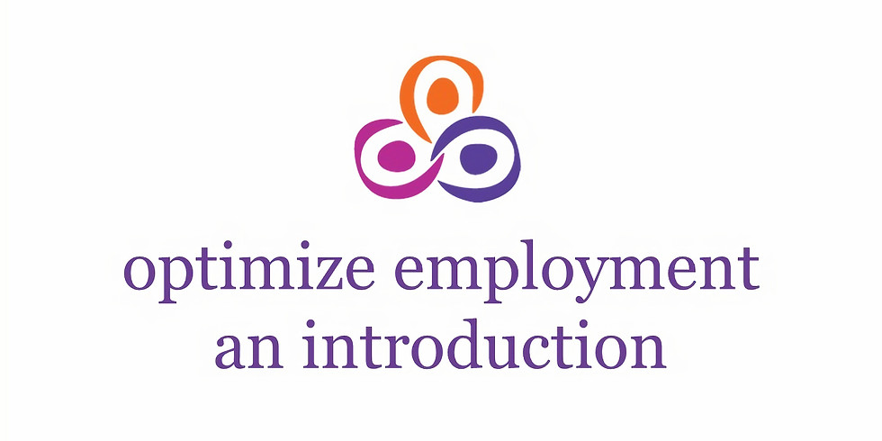 Optimize Employment - An Introduction, April 26, 2019  (1)