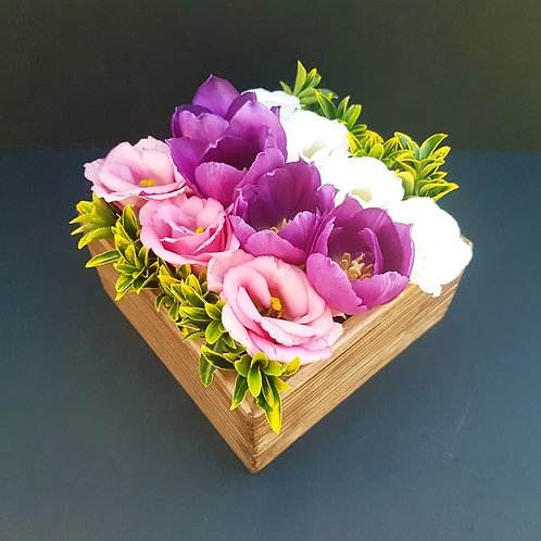 Seasonal Small Bento Box of Flowers