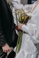 Wedding Flower Bouquet White Modern