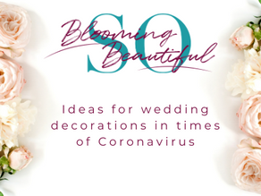 Weddings in times of Coronavirus: ideas and flowers.