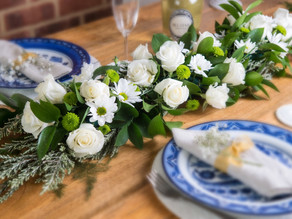 How to plan flowers for a special dinner party