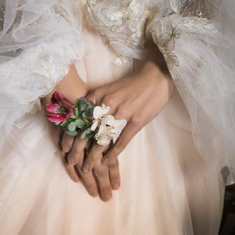 Floral Wedding Ring