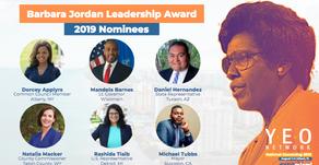Voting Now Open for 2019 Barbara Jordan Leadership Award