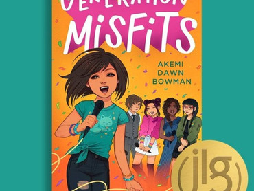 GENERATION MISFITS is a Junior Library Guild Gold Standard Selection!