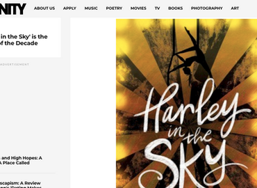 """Affinity Magazine calls Harley in the Sky """"The Novel of the Decade"""""""