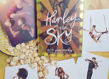 Harley in the Sky is out in the world
