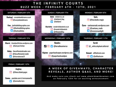 THE INFINITY COURTS Buzz Week - Everything you need to know!