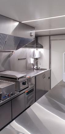 Prekybinė maisto priekaba, food trailer, maisto vagonėlis, maistovežis