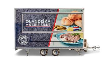 Maisto priekabos, prekybinės priekabos, maistovežiai. Inovatyvi ir vienintelė Lietuvoje bei viena iš pirmaujančių bendrovių Baltijos šalyse, kuri specializuojasi maisto ir komercinių priekabų gamyboje. Maisto priekaba arba maistovežis sukomplektuojami pagal kiekvieno kliento reikalavimus ir poreikius.