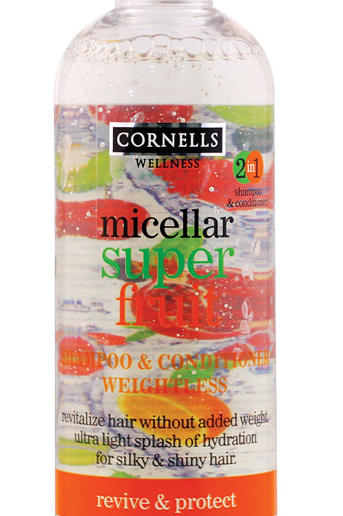 Micellar Shampoo & Conditioner with Super Fruit