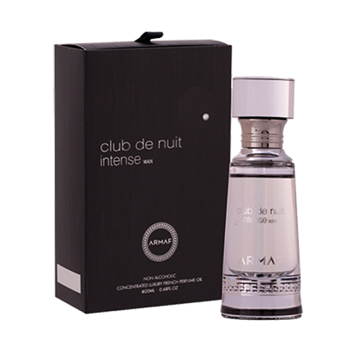 Club de Nuit Intense-Concentrated Luxury French Perfume Oil-0.68 Fl Oz For Men