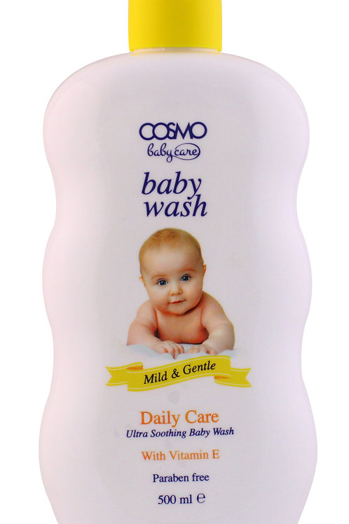 Baby Wash Daily Care with Vitamin E Paraben free