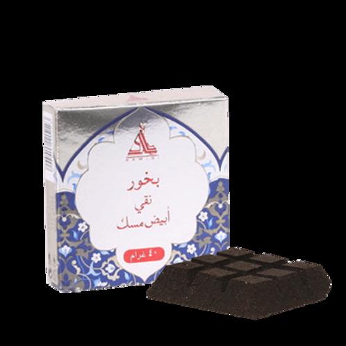HAMIDI BAKHOOR PURE WHITE MUSK 40 GM TABLET/CHOCOLATE