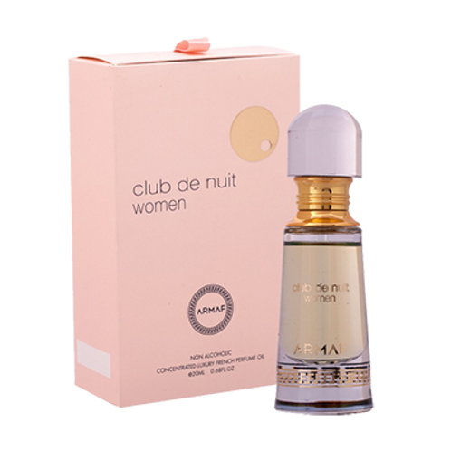 Armaf Club de Nuit Women-Concentrated Luxury French Perfume Oil-0.68 Fl Oz