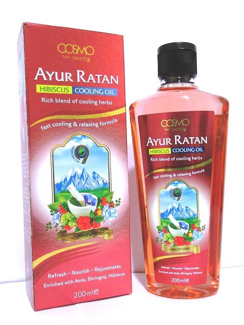 Ayur Ratan Herbal Cooling Oil - Hibiscus Oil