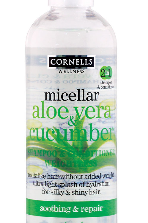 Micellar Shampoo & Conditioner Aloe Vera & Cucumber