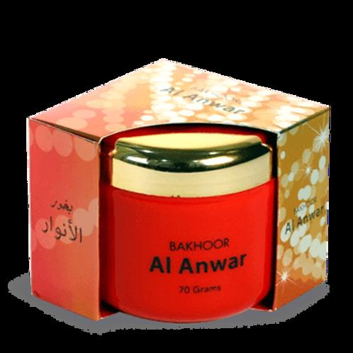 Hamidi Bakhoor Al Anwar 70 gm Incense by Hamidi Home Fragrance Natural Hand D