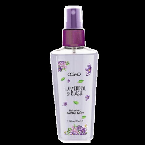 Facial Mist - Refreshing & Energizing - Lavender & Basil