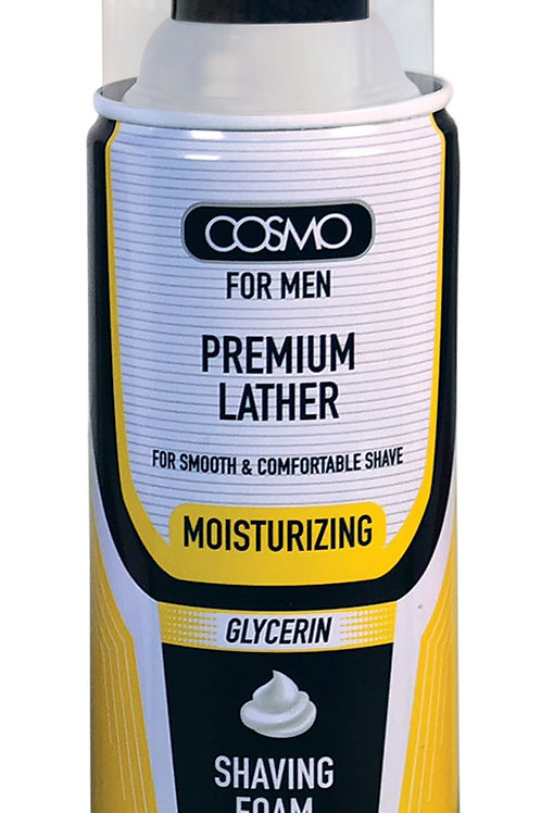 Shaving Foam Moisturizing Glycerin 400ml/13.5 fl.oz.