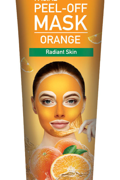 Cosmo Skin Naturals Facial Peel off Mask Orange for Radiant Skin 5.1 Fl. oz.