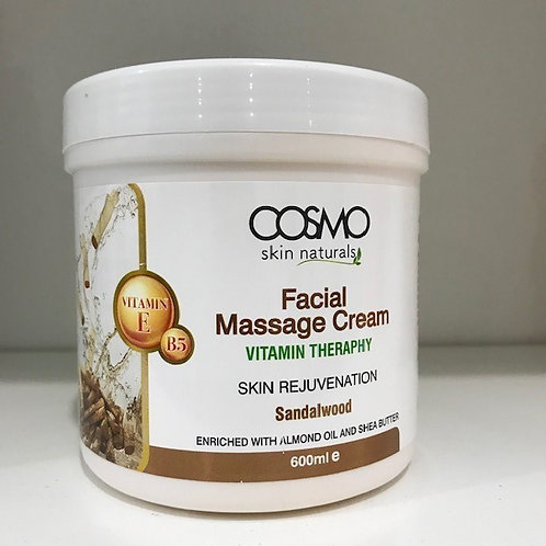 Facial Massage Cream Sandalwood