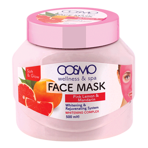 Face Mask - lemon & Mandarin orange