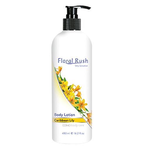Floral Rush Body Lotion - Carribean Lilly 480ml