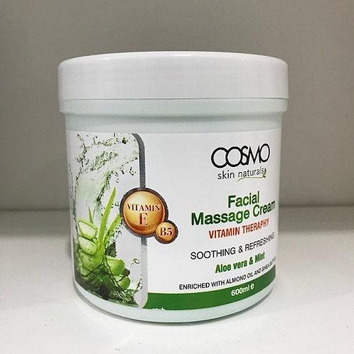 Facial Massage Cream Aloe vera & Mint