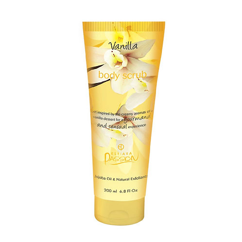 VANILLA by ESTIARA Passion for Women 6.8 fl.oz BODY SCRUB