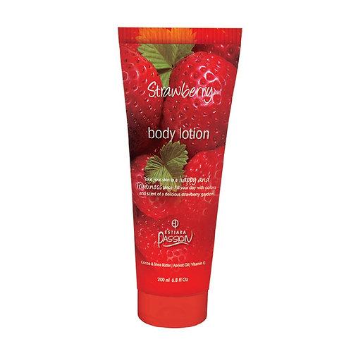 STRAWBERRY by ESTIARA Passion for Women 6.8 fl.oz BODY LOTION Body lotion