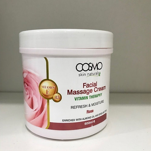 Facial Massage Cream Rose