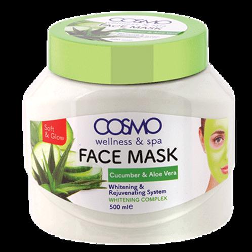 Face Mask - Cucumber & aloe vera