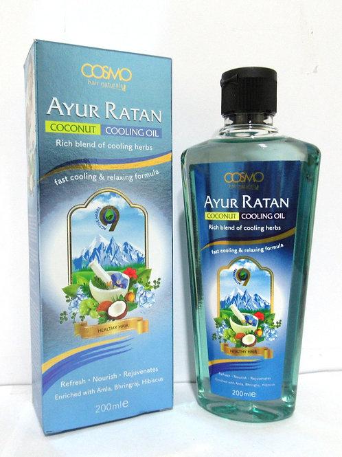 Ayur Ratan Herbal Cooling Oil - Coconut