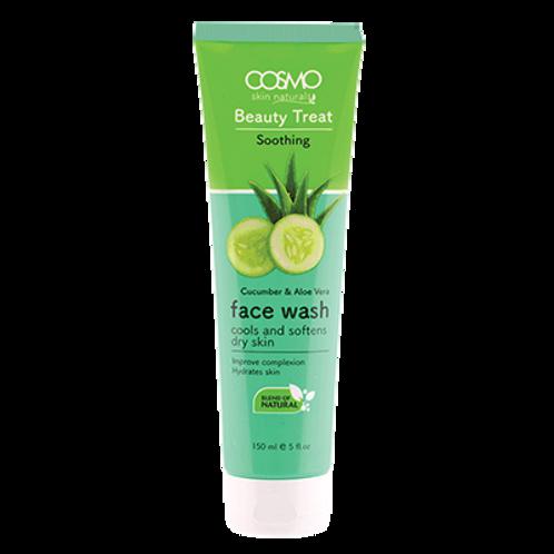 Beauty Treat FaceWash - Cucumber & Aloe Vera 150ml