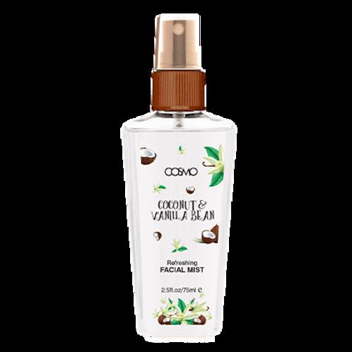 Facial Mist - Refreshing & Energizing - Coconut & Vanilla Bean