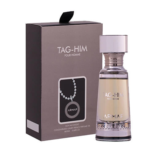 Armaf Tag Him-Concentrated Luxury French Perfume Oil-0.68 For Men