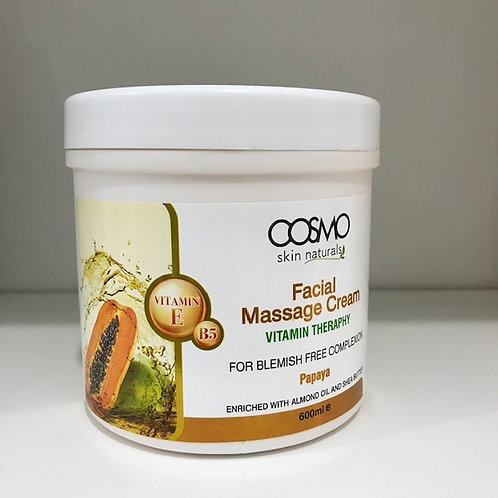 Facial Massage Cream Papaya