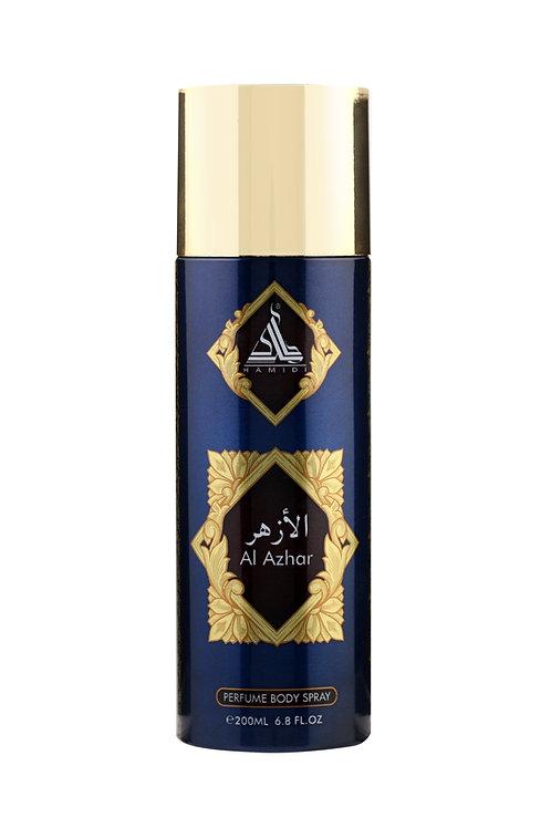 HAMIDI AL AZHAR PERFUME BODY SPRAY 200ML ALCOHOL FREE
