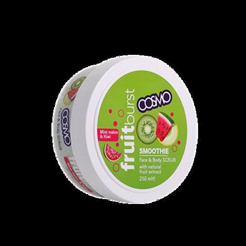 Smoothie Scrub jar - Mint Melon and Kiwi