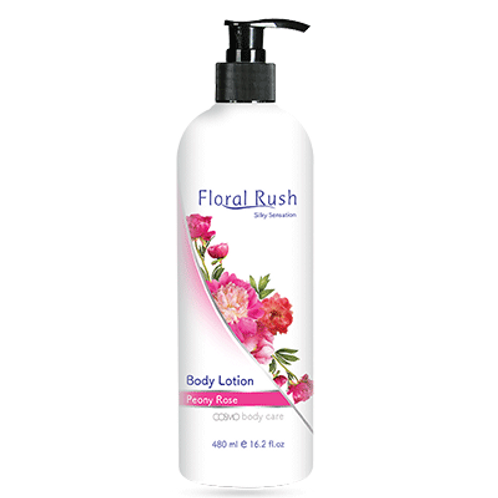 Floral Rush Body Lotion - Peony Rose 480ml