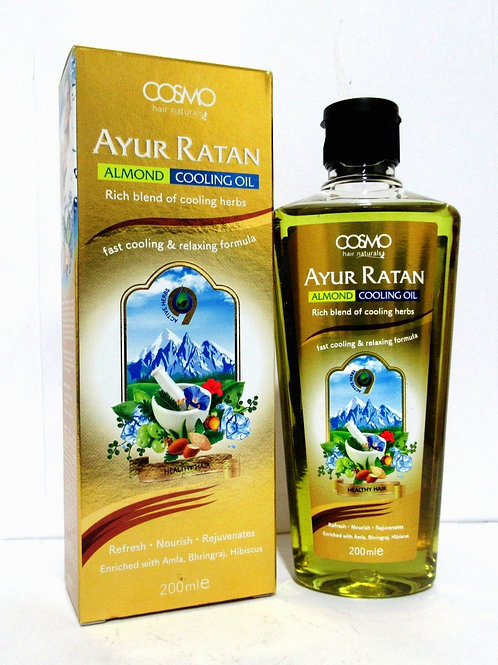 Ayur Ratan Herbal Cooling Oil - Almond