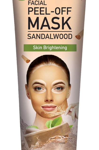 Cosmo Skin Naturals Facial Peel off Mask Sandalwood for Brightening 5.1 Fl. oz.